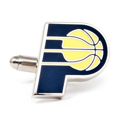 Indiana Pacers Enamel Cufflinks-Cufflinks-Cufflinks, Inc.-Top Notch Gift Shop
