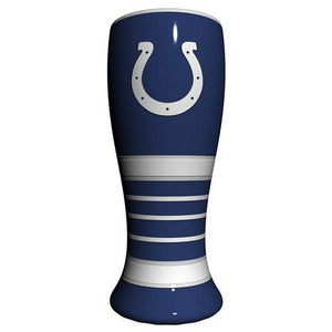 Indianapolis Colts Artisan Hand Painted Pilsner Glass-Pilsner Glass-Boelter Brands-Top Notch Gift Shop