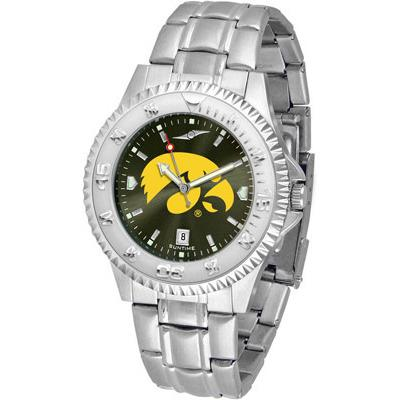 Iowa Hawkeyes Competitor AnoChrome - Steel Band Watch-Watch-Suntime-Top Notch Gift Shop