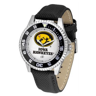 Iowa Hawkeyes Competitor - Poly/Leather Band Watch-Watch-Suntime-Top Notch Gift Shop