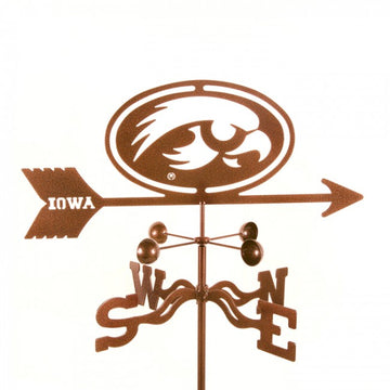 Iowa Hawkeyes Weathervane