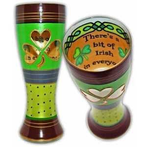 Irish Hand Painted Pilsner Glass-Pilsner Glass-Reverz-Art-Top Notch Gift Shop