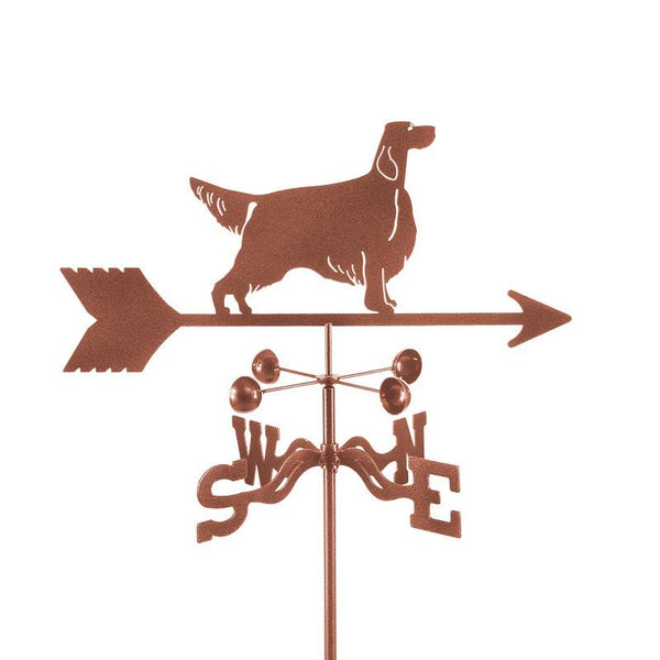 Irish Setter Weathervane-Weathervane-EZ Vane-Top Notch Gift Shop