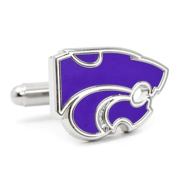 Kansas State University Wildcats  Enamel  Cufflinks