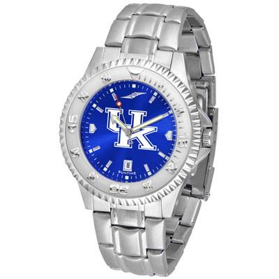 Kentucky Wildcats Competitor AnoChrome - Steel Band Watch-Watch-Suntime-Top Notch Gift Shop