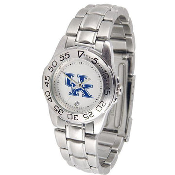 Kentucky Wildcats Ladies Steel Band Sports Watch
