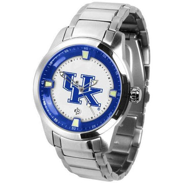 Kentucky Wildcats Men's Titan Stainless Steel Band Watch