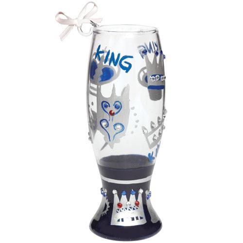 King Mini Pilsner Ornament by Lolita®-Ornament-Designs by Lolita® (Enesco)-Top Notch Gift Shop