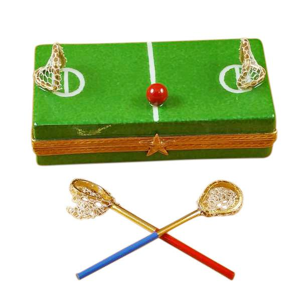 Lacrosse Field Limoges Box by Rochard™-Rochard-Top Notch Gift Shop