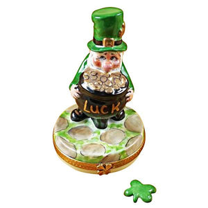 Leprechaun Limoges Box by Rochard™-Limoges Box-Rochard-Top Notch Gift Shop