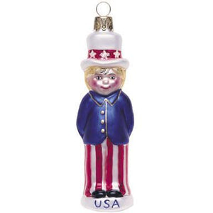 Little Sam Christmas Ornament-Ornament-Landmark Creations-Top Notch Gift Shop