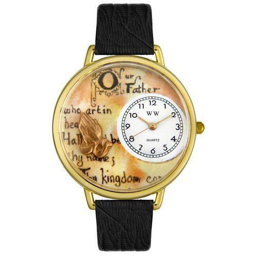 Lord's Prayer Watch in Gold (Large)-Watch-Whimsical Gifts-Top Notch Gift Shop