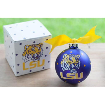 LSU Christmas Ornament