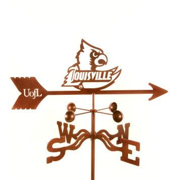 Louisville University Weathervane-Weathervane-EZ Vane-Top Notch Gift Shop