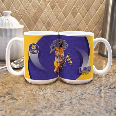 "LSU ""Mascot"" Mug - (Set of 2)-Mug-Memory Company-Top Notch Gift Shop"