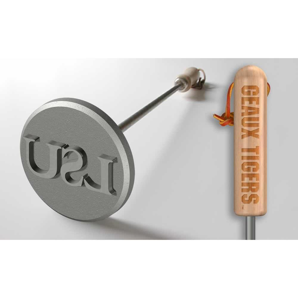 LSU Tigers Steak Branding Irons-Barbeque Tool-Sports Brand-Top Notch Gift Shop