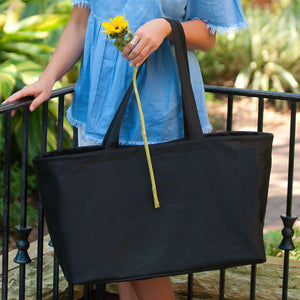 Black Ultimate Tote - Personalized-Bag-Viv&Lou-Top Notch Gift Shop