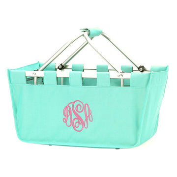 Mint Market Tote - Personalized