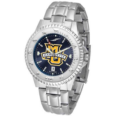 Marquette Golden Eagles Competitor AnoChrome - Steel Band Watch-Watch-Suntime-Top Notch Gift Shop
