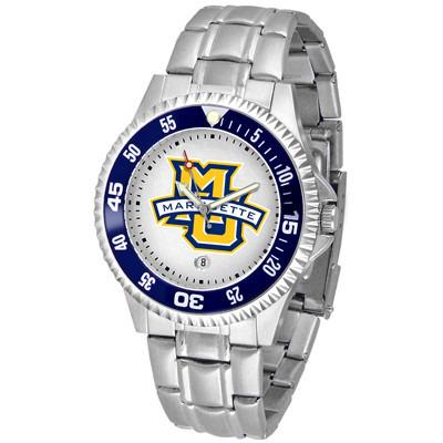 Marquette Golden Eagles Competitor - Steel Band Watch-Watch-Suntime-Top Notch Gift Shop