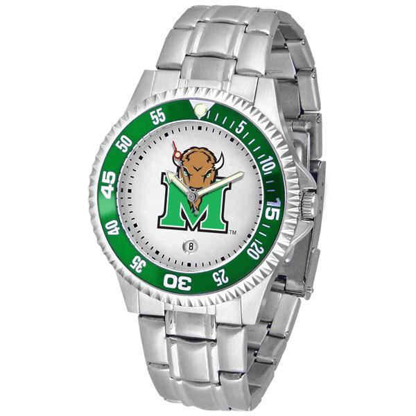 Marshall Thundering Herd Competitor - Steel Band Watch-Watch-Suntime-Top Notch Gift Shop