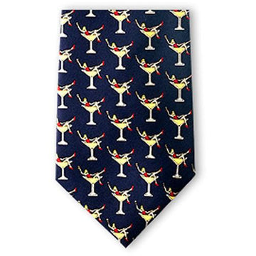 Martini Girls Silk Necktie