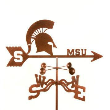 Michigan State University Weathervane-Weathervane-EZ Vane-Top Notch Gift Shop