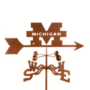 Michigan University Weathervane-Weathervane-EZ Vane-Top Notch Gift Shop