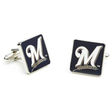 Milwaukee Brewers Enamel Cufflinks