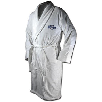 Milwaukee Brewers White Terrycloth Bathrobe