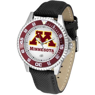 Minnesota Gophers Competitor - Poly/Leather Band Watch-Watch-Suntime-Top Notch Gift Shop