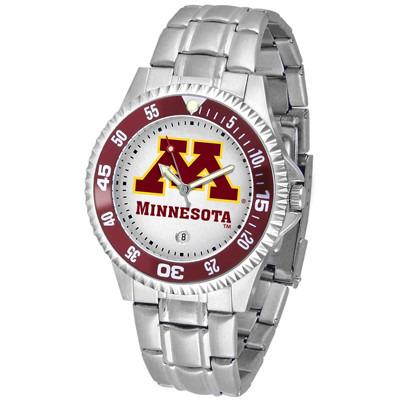 Minnesota Gophers Competitor - Steel Band Watch-Watch-Suntime-Top Notch Gift Shop