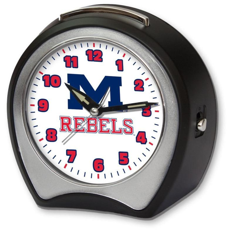 Mississippi Rebels Fight Song Alarm Clock-Clock-Roman-Top Notch Gift Shop