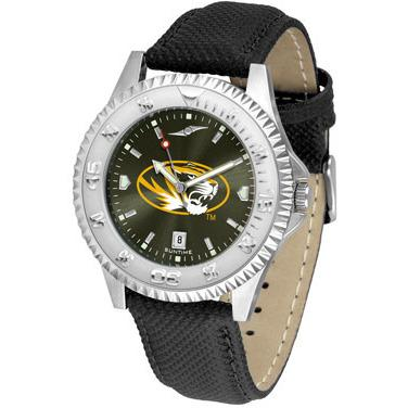 Missouri Tigers Competitor AnoChrome - Poly/Leather Band Watch-Watch-Suntime-Top Notch Gift Shop