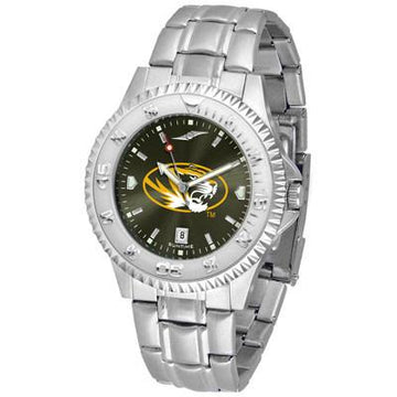 Missouri Tigers Competitor AnoChrome - Steel Band Watch