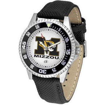 Missouri Tigers Competitor - Poly/Leather Band Watch
