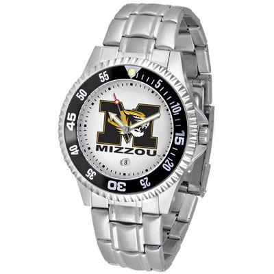 Missouri Tigers Competitor - Steel Band Watch-Watch-Suntime-Top Notch Gift Shop