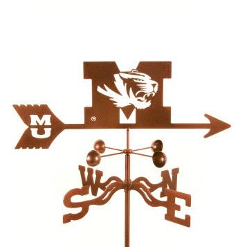 Missouri University Weathervane-Weathervane-EZ Vane-Top Notch Gift Shop