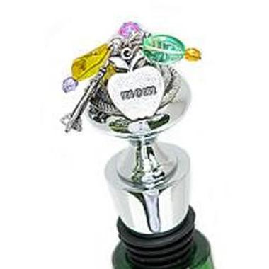 Mom Wine Bottle Stopper-Bottle Stopper-Classic Legacy-Top Notch Gift Shop