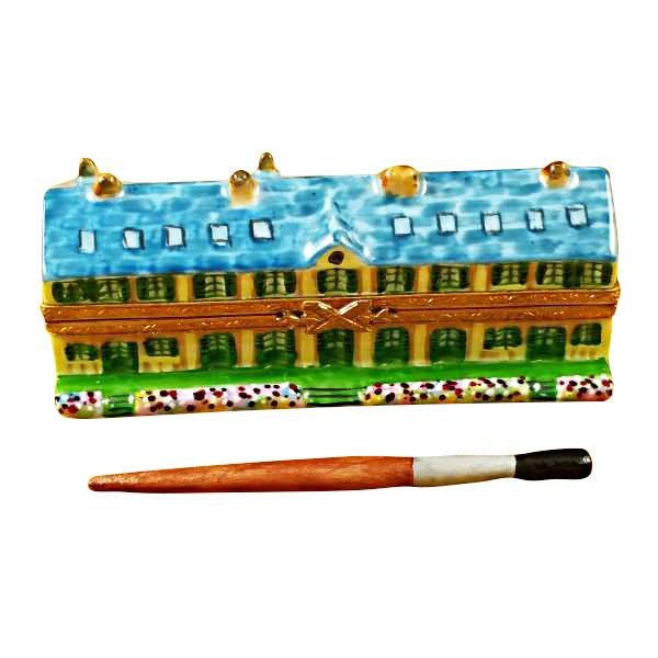 Monet's Residence At Giverny Limoges Box by Rochard-Limoges Box-Rochard-Top Notch Gift Shop