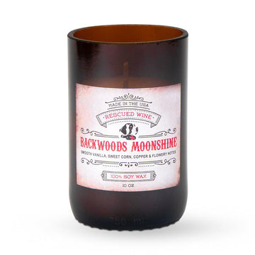 Backwoods Moonshine Scented Long Burn Soy Candle