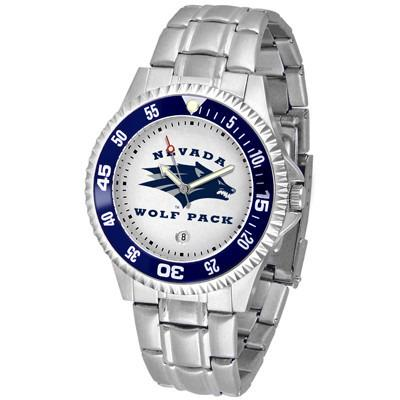 Nevada Wolfpack Competitor - Steel Band Watch-Watch-Suntime-Top Notch Gift Shop