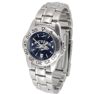 Nevada Wolfpack Ladies AnoChrome Steel Band Sports Watch-Watch-Suntime-Top Notch Gift Shop