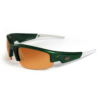 New York Jets Dynasty Sunglasses - Green and White