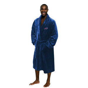 Buffalo Bills Men's Silk Touch Plush Bath Robe-Bathrobe-Northwest-Top Notch Gift Shop