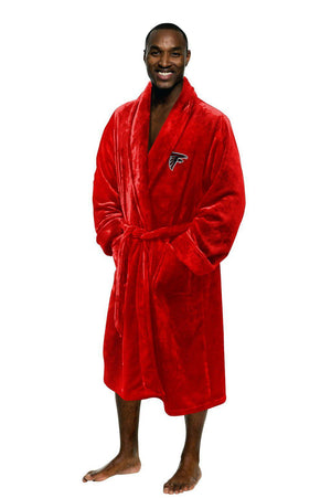 Atlanta Falcons Men's Silk Touch Plush Bath Robe-Bathrobe-Northwest-Top Notch Gift Shop