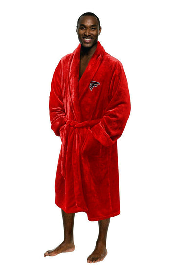 Atlanta Falcons Men's Silk Touch Plush Bath Robe