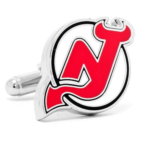 NJ Devils Cufflinks-Cufflinks-Cufflinks, Inc.-Top Notch Gift Shop