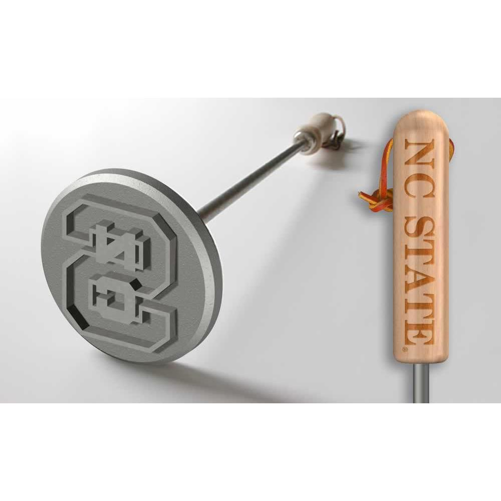 North Carolina State Wolfpack Steak Branding Irons-Sports Brand-Top Notch Gift Shop