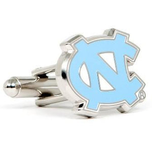 North Carolina Tar Heels Enamel Cufflinks-Cufflinks-Cufflinks, Inc.-Top Notch Gift Shop